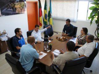 Poder Executivo municipal recebe a visita de assessor da Casa Civil estadual