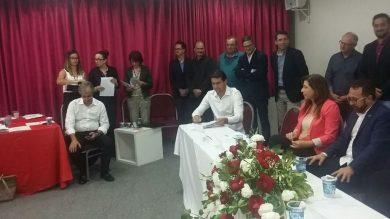 Prefeito Gilso assina acordo de cooperação na área da educação