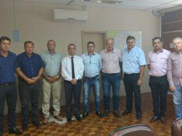 Em reunião no DAER líderes da região buscam a construção de um novo trevo de acesso à VRS-810