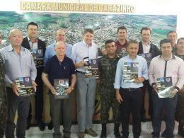 Prefeito Gilso Paz é empossado como presidente da junta militar de Tio Hugo
