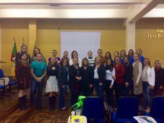 Servidores da secretaria de Assistência Social participam da 2ª reunião do  Coegemas em Soledade