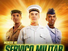 Jovens que completam 18 anos em 2018 devem fazer o alistamento militar