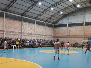 Conhecidos os finalistas do campeonato de voleibol e futsal de Tio Hugo 2017