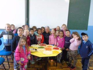 Alunos do Pré I da escola Casemiro de Abreu participam de atividade diferenciada