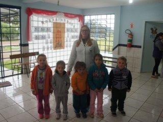 Tio Hugo aderiu ao Programa Saúde nas Escolas