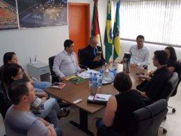 Representantes da secretaria estadual de Desenvolvimento Social, Trabalho, Justiça e Direitos Humanos visitam Tio Hugo