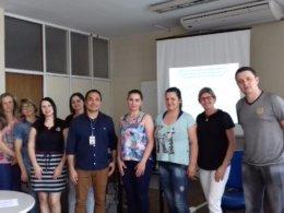 Servidores da secretaria de Assistência Social participam de reunião promovida pelo Serviço Social do INSS