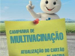 Campanha Nacional de Multivacinação vai até o dia 22 de setembro