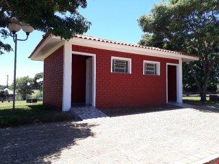 Banheiro da Praça Joaquim Granja Neto no bairro Rabello está concluído