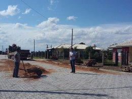 Com investimento de aproximadamente R$ 170 mil pavimentação de ruas no Bairro Progresso é finalizada