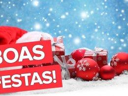 Feliz Natal e próspero Ano Novo! Boas Festas!