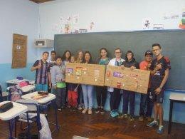 Secretaria de Saúde de Tio Hugo desenvolve o PSE – Programa Saúde na Escola
