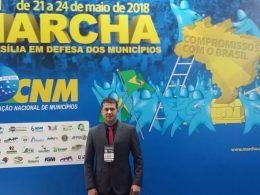 Gilso Paz participa da XXI Marcha a Brasília em Defesa dos Municípios