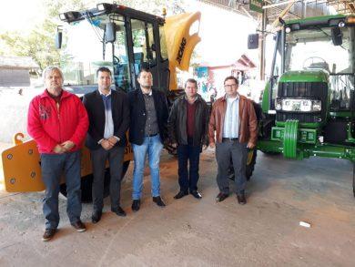 Administração Municipal de Tio Hugo é contemplada com novas máquinas