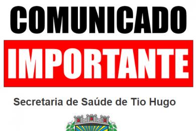 Farmácia do Posto de Saúde estará fechada na manhã da segunda-feira dia 22 de abril