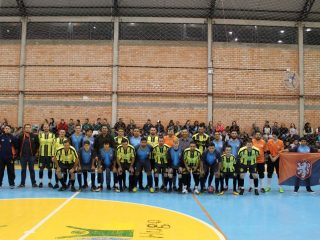 Iniciado o campeonato de futsal e voleibol de Tio Hugo 2018