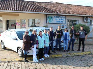 Secretaria Municipal de Saúde recebe dois novos veículos