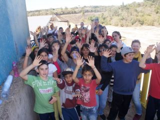 """Alunos da rede municipal de ensino participam do projeto """"Viajando Pela Rota"""""""
