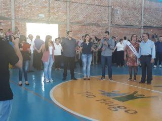 Administração Municipal participa do baile de terceira idade do grupo Alegria de Viver