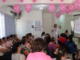 Dia D do Outubro Rosa contou com palestras para as mulheres do município
