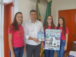 Prefeito Gilso Paz recebe convite para participar da IX Ibirafest