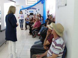 Dia D em alusão ao Novembro Azul da secretaria de Saúde contou com grande participação de homens