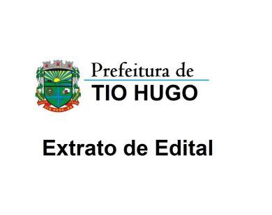 EXTRATO DE EDITAL DE CONTRATO TEMPORÁRIO Nº 003/2019