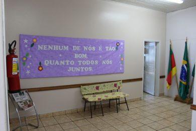 Administração Municipal de Tio Hugo promove melhoria em prédios públicos