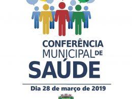 Conferência Municipal de Saúde será realizada na quinta-feira 28 de março