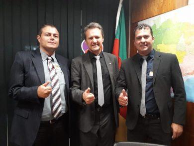 Prefeito e vice cumprem agenda em Brasília