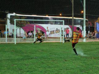 Torneio de futebol sete masculino foi a primeira competição esportiva realizada no Espaço Municipal Esportivo e Recreativo Helio Sippel