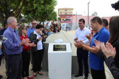 Espaço Municipal Esportivo e Recreativo Helio Sippel foi inaugurado no sábado 13