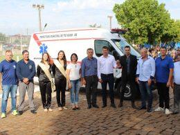 Nova conquista: Município de Tio Hugo adquire ambulância 0 Km