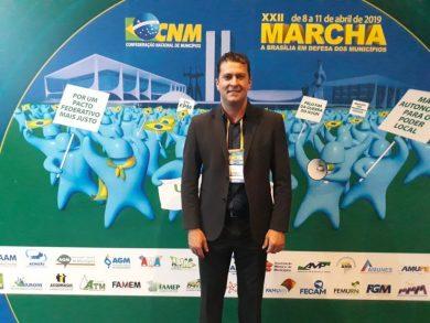 Gilso Paz participa da XXII Marcha a Brasília em Defesa dos Municípios
