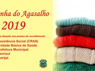 Campanha do Agasalho: Entrega de donativos será realizada nos dias 29 e 30 de maio