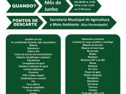 Secretaria de Agricultura e Meio Ambiente promove campanha de recolhimento de lixo eletrônico