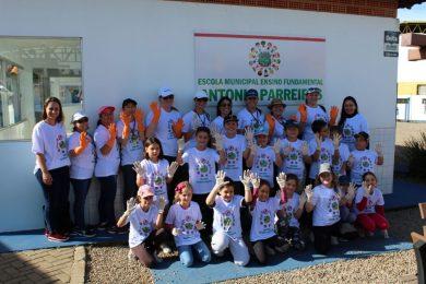 """Projeto """"Agentes Mirins"""" envolve crianças da escola Antonio Parreiras no combate ao mosquito da dengue"""