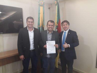 Segurança do trânsito no perímetro urbano de Tio Hugo é pauta de reunião na capital