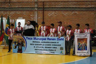 Iniciada a Taça Municipal Ronan Diehl