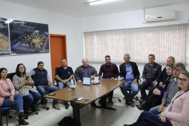 Deputado Federal Afonso Motta visita Tio Hugo