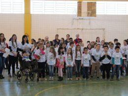 """Culminância do projeto """"Meio Ambiente e Valorização da Vida"""" na escola Antonio Parreiras"""