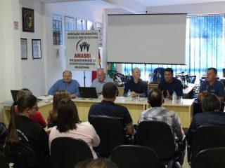 AMASBI reúne prefeitos em Tio Hugo