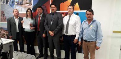 Prefeito, vice e vereadores cumprem extensa agenda em Brasília