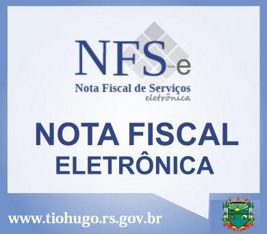 Município de Tio Hugo institui a Nota Fiscal de Serviço Eletrônica – NFS-e