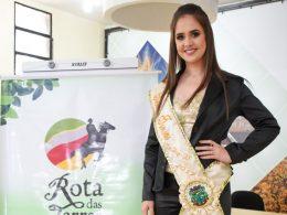 Milena Ubel Senhorita Turismo de Tio Hugo participará de concurso regional