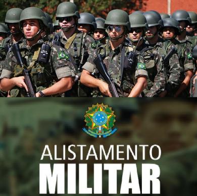 Jovens que completam 18 anos em 2020 deverão se alistar no Serviço Militar