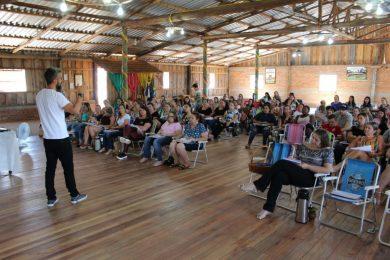Formação dos professores da rede municipal de ensino
