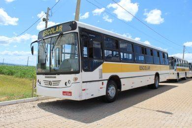 Vistoria nos ônibus responsáveis pelo transporte escolar