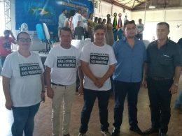 Tio-huguenses participam da Mobilização em Defesa dos Pequenos Municípios