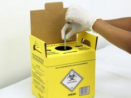 Descarte correto dos resíduos de saúde